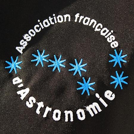 Détails logo de la polaire de l'AFA