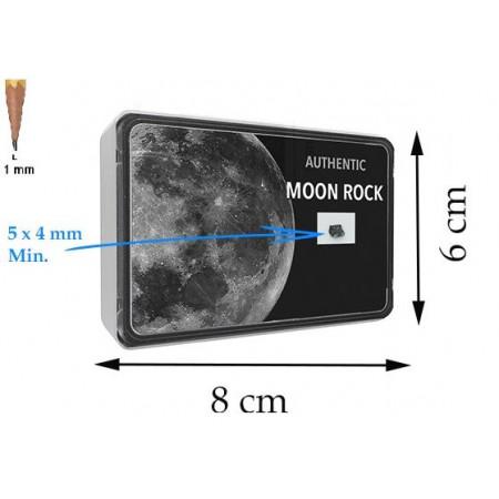 Dimension du coffret fragment de Lune