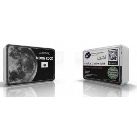 Certificat d'authenticité du fragment de lune