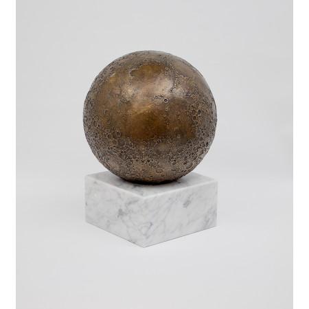 objet décoration astronomie cassiom globe lunaire en bronze 1