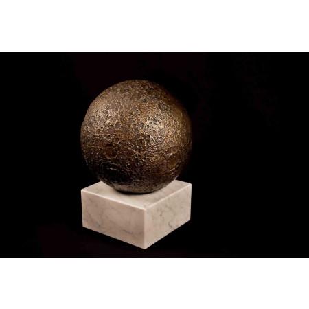 objet décoration astronomie cassiom globe lunaire en bronze 4