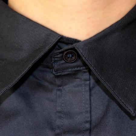 Chemise de l'AFA détails du col