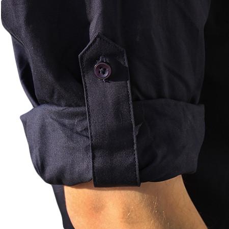 Détails des manches de la chemise AFA