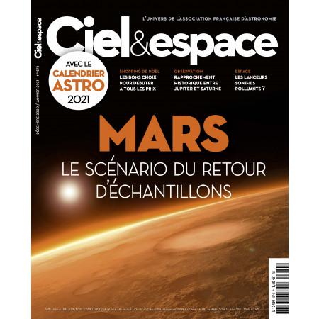 couv-574- MARS le scénario du retour d'échantillons