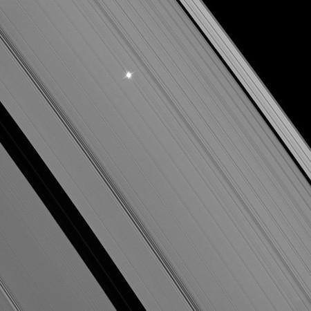 Composition des photographies de Cassini