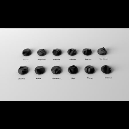 cassiom objet décoration astronomie data sculpture 5