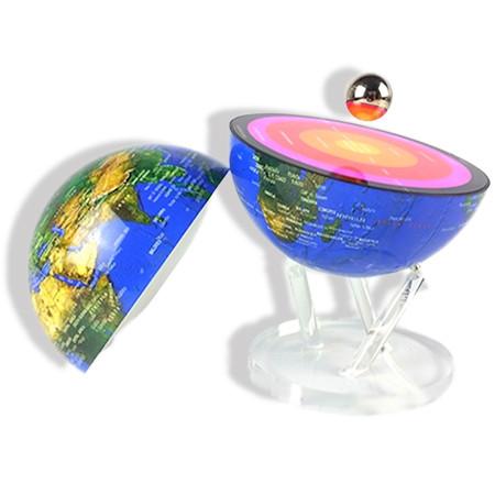 Globe Lumineux pour apprendre la composition de la terre
