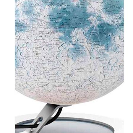 Détails Globe de la Lune