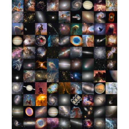 GalleryAstro Mosaïque 25 ans d'images de Hubble ©AFA