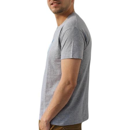 Tee-shirt illustration astronaute couleur gris