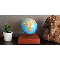 Globe terrestre en lévitation