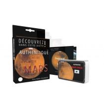 Présentation du coffret fragment de planète Mars - Taille L