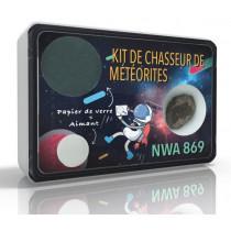 Kit de chasseur de météorites NWA 869