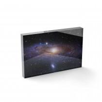 Bloc Plexi Galaxie d'Andromède