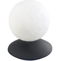 MOONFLIGHT – Globe Lune 3D lumineux sur base design UFO