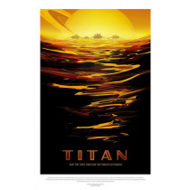 galleryastro poster retro Affiche titan ©AFA