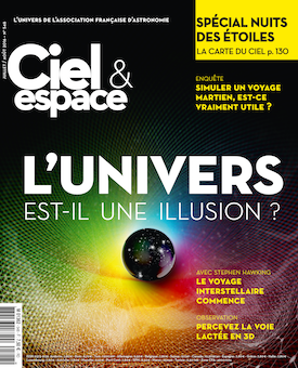 Couverture du magazine Ciel et Espace