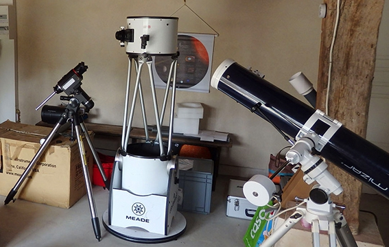 Instruments astronomie stage