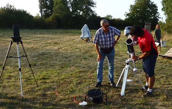 Stage et séjours astronomie