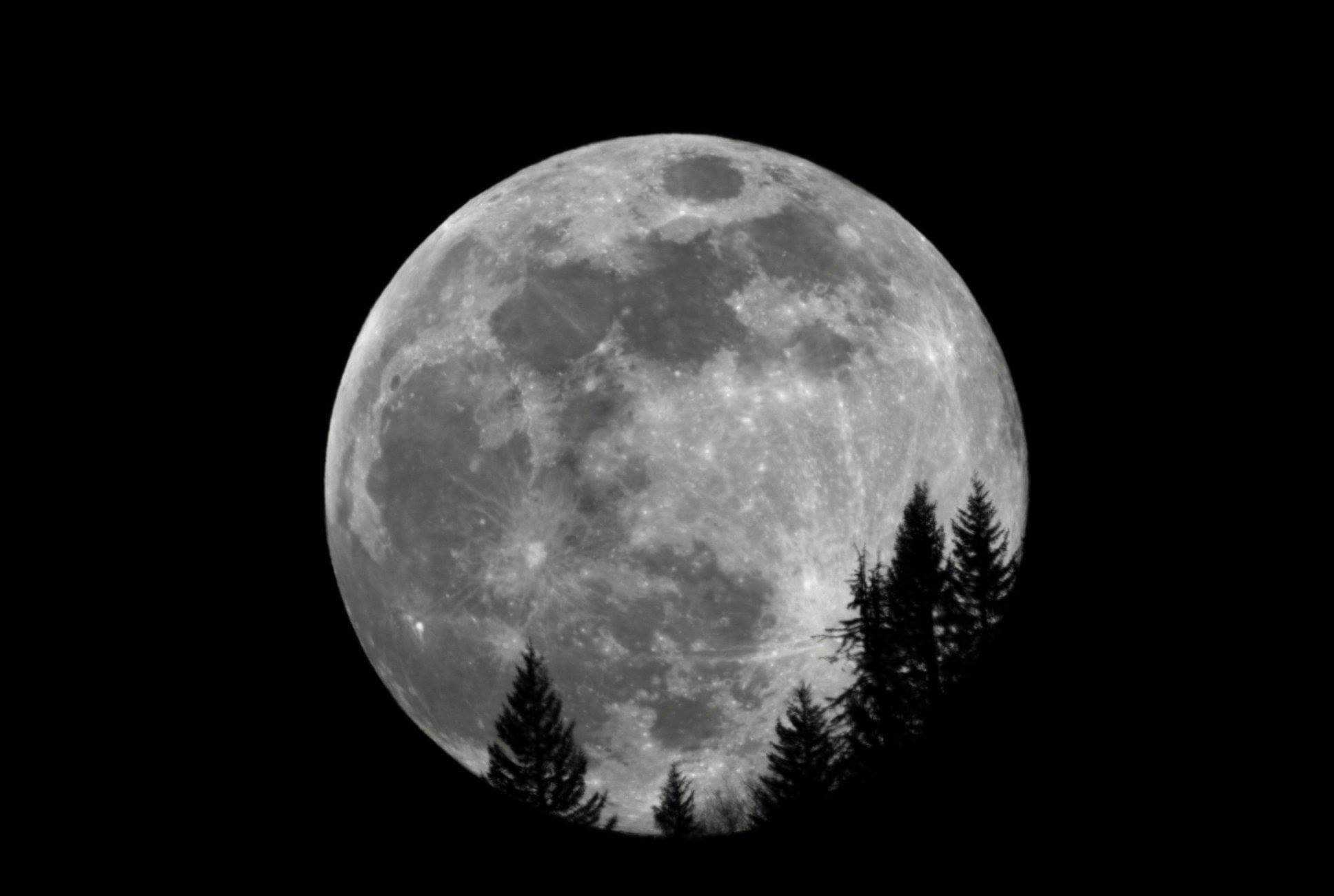 La lune photographiée par le télescope Stellina
