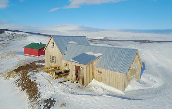 séjour en logement atypique en Islande